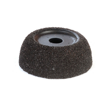 """2"""" Black Finishing Cup - 60 grit"""
