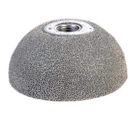 "2"" Dome Silver Carbide Buffing Wheel"