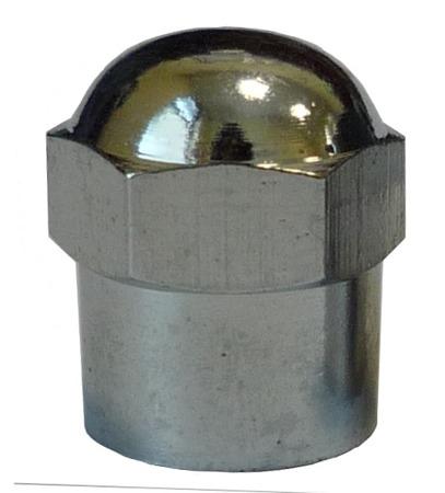 Chrome Hex-Head Cap - pack of 100