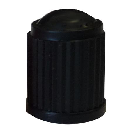 Plastic Valve Cap Black - pack of 100
