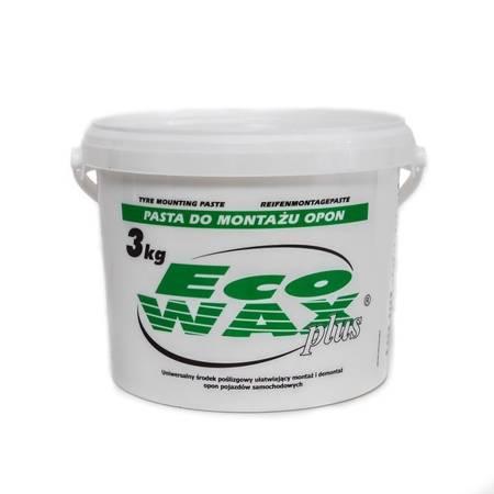 """""""ECO-WAX plus"""" pasta montażowa do opon 3kg biała"""