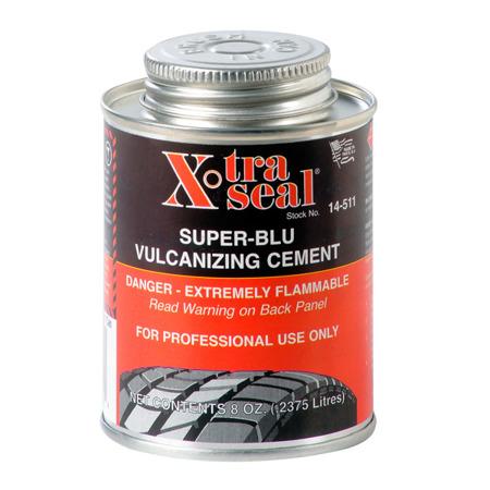 """Klej """"SUPR-BLU"""" 237ml (niebieski) z pędzlem"""